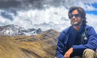 Andrés Wiese promovió el turismo interno hace unos días, y ahora aprovechó para conocer la sierra limeña con su perrita Menta.