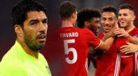 Luis Suárez vuelve a sufrir a la máquina del Bayern Múnich.