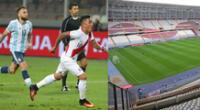 Perú y Argentina se enfrentan en el Nacional de Lima el próximo 17 de noviembre.