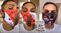 Paolo Guerrero captó la atención en las redes sociales.