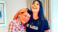 'Don Tulo' sorprendió a su hija Tula Rodríguez mostrándole cómo van quedando los arreglos de su hogar a días de su retorno.
