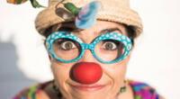 Wendy Ramos es halagada en programa de Univisión por su trabajo como clown