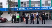 Paciente se habría lanzado del séptimo piso del hospital Daniel Alcides Carrión