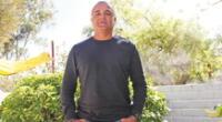 Rafo Castillo , técnico del Grau terminó molesto por el comportamiento de  Comizzo.