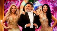 Josetty Hurtado felicita a su padre por ayudar en su programa.