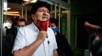 Evo Morales viajó el viernes 23 de octubre de Buenos Aires, ciudad donde estaba refugiado desde hace ocho meses, a Venezuela.