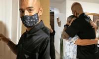 El cantante Maluma conmovió a sus fans al mostrar el emotivo momento en que abraza a su madre por primera vez después de casi medio año.