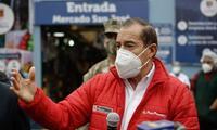 El premier Walter Martos concuerda que se debe investigar las acusaciones de corrupción contra el mandatario Martín Vizcarra.
