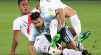 El Kun no estará para el Perú vs. Argentina.