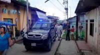 La policía retiró los cadáveres, en medio del dolor de los familiares