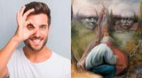 Encuentra los seis rostros escondidos en la pintura