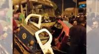 Accidente de tránsito en Carabayllo.