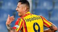 Lapadula ya quiere jugar por Perú.