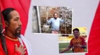 El incondicional hincha de la selección peruana protagonizó un peculiar video.