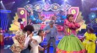 Yahaira Plasencia sufre caída mientras cantaba en el Reventonazo de la Chola