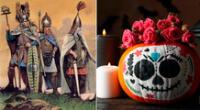 Los celtas creían que con la llegada de Samhain los espíritus de los muertos podían caminar entre los vivos.
