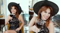 Magaly Medina celebra Halloween con su disfraz favorito.