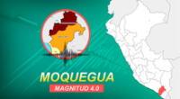 Sismo de magnitud 4.0 sacudió Moquegua la mañana de este domingo, según información de IGP.