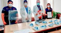 Donación de los equipos llegó para los hospitales de Almanzor Aguinaga de Chiclayo y Agustín Arubulú de Ferreñafe.