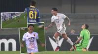 Gianluca Lapadula puso el único tanto de Benevento ante Verona.