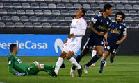 Olivares estuvo en una jornada auspiciosa al marcar dos goles.