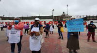 Protestas por incumplimiento de presupuestos en comedores populares.