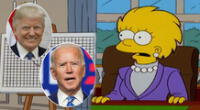 Los Simpson se robaron la atención en redes sociales en medio de las Elecciones en Estados Unidos.
