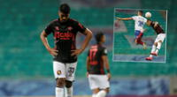 Melgar no pudo en Brasil y se despidió de la Copa Sudamericana 2020 | Foto: EFE/Composición