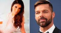 Yahaira Plasencia hace peculiar pedido a Ricky Martin.