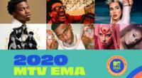 MTV EMA 2020: Hora y canal para ver show de Maluma, Karol G y demás artistas