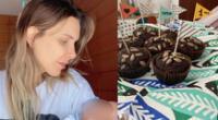 Juliana Oxenford celebra el primer mes de Mateo con tierno mensaje
