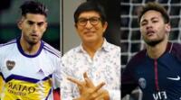 Fernando Armas mostró su rechazo a la suspensión de Carlos Zambrano con un llamativo comentario sobre Neymar.
