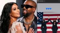 Kim Kardashian celebró el triunfo de Joe Biden ante Kanye West