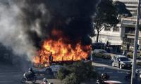 La Policía confirmó la muerte y el incendio en la estación de San Mateo.