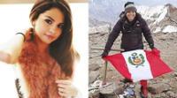 La actriz Selena Gómez le dará vida en la pantalla grande a Silvia Vásquez-Lavado, la primera peruana que alcanzó la cima del Everest.