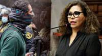 La parlamentaria de Podemos Perú expresó su desacuerdo en una sesión de la Comisión de Justicia del Congreso.