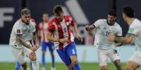 Paraguay le hizo un buen partido a Argentina en Buenos Aires.
