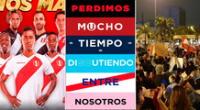 Afiche se hizo viral en redes sociales e internautas llaman a la unión entre hinchas de los principales equipos del Perú ante la crisis sanitaria y política que vivimos por el golpe de Estado de Manuel Merino y la pandemia.