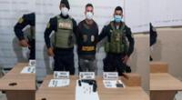 El detenido fue puesto a disposición de  Depincri- Callao