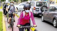 La Costa Verde permanecerá abierta a ciclistas, anunció Jorge Muñoz.