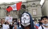 A través de Twitter, el grupo de hackers Anonymous se pronunció sobre la violenta represión de la policía peruana durante marchas contra Manuel Merino y el Congreso.