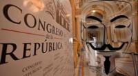 Hackean página del Congreso.