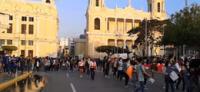 Trujillo en protestas contra Manuel Merino