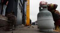 reportan fuga de balón de gas en Collique