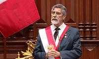 Juramentación del presidente Francisco Sagasti