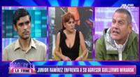 Guillermo Miranda pide perdón a Junior Ramírez tras insultos xenófobos.