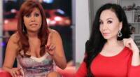 Magaly Medina respondió a críticas de Janet Barboza por no hablar de crisis política.
