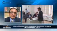 """Juez de la Corte de La Libertad, Johan Quesnay Casusol expuso en programa """"Oralidad en los Procesos Civiles"""""""