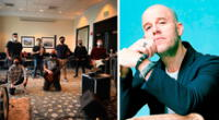 Gian Marco mostró en sus redes sociales los ensayos junto a su agrupación para el show que dará este fin de semana en un conocido hotel limeño.