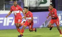 Huancayo ya dejó en el camino a Argentinos Juniors y el Liverpool.